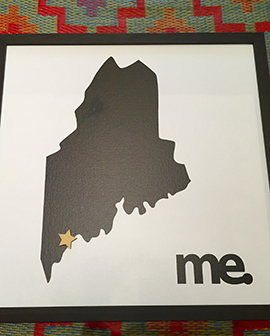 Maine inspired artwork