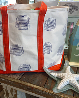 whimsical Maine tote