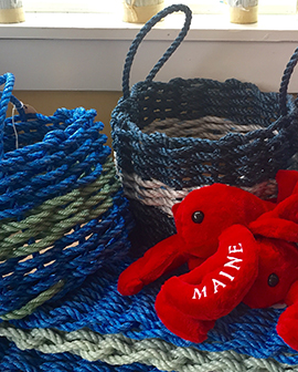 Maine rope tote